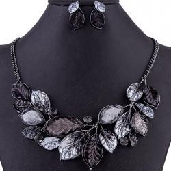 Set Leaves Consort-Čierna