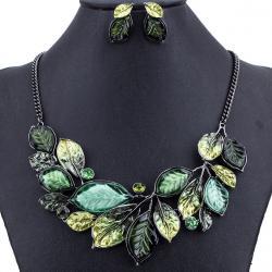 Set Leaves Consort-Zelená