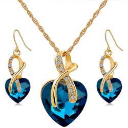 Set Srdiečko Premium - Modrá