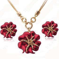 Set Starfish-Červená