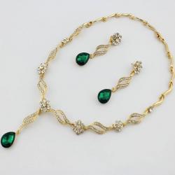 Set Tinsel-Zlatá/Zelená
