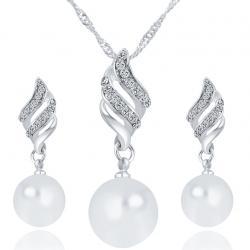 Set Trendy Pearl - Strieborná
