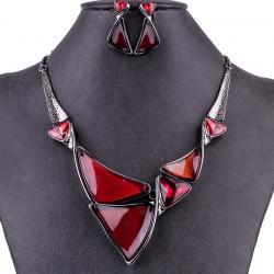 Set Triangle Consort-Červená