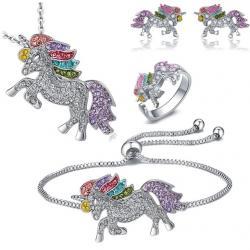 Set Unicorn-Strieborná