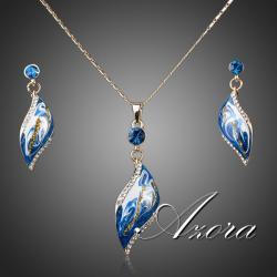 Set šperkov Blue AZORA - Modrá