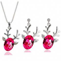 Set šperkov Sobík - Ružová