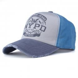 Šiltovka NYPD-Modrá/Sivá