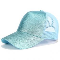 Trblietavá Šiltovka-Modrá