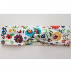 Turbanová Čelenka Flowers-Multi/50
