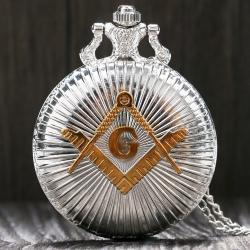 Vreckové Hodinky Freemasonry-Strieborná/Zlatá