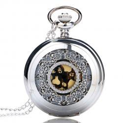 Vreckové Hodinky Silver Lux