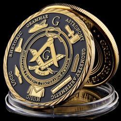 Zberateľská Minca-Freemasonry