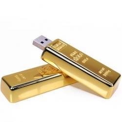 Zlatá tehla 8GB USB