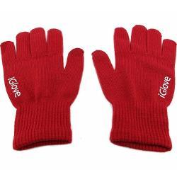 iGlove rukavice na dotykový displej-Bordová