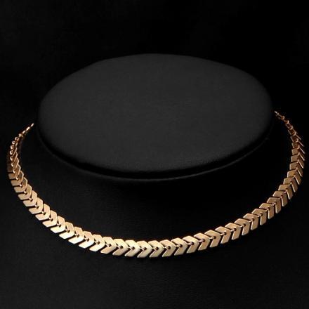 Náhrdelník Modern-Zlatá