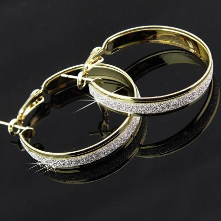 Náušnice Gold Charm - Zlatá