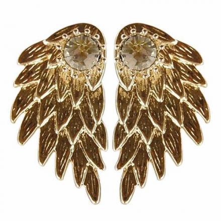 Náušnice Majestic-Zlatá 0f92794c278
