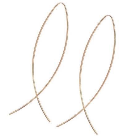 Náušnice Rybky-Zlatá