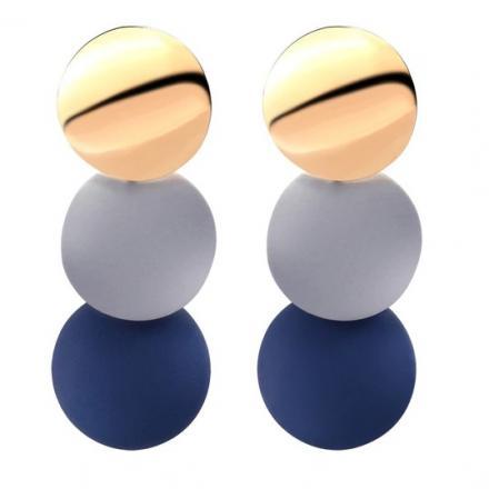 Náušnice Vanda-Modrá