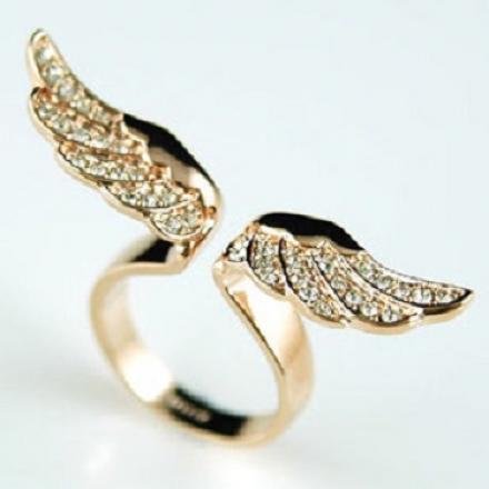 Prsteň Angel wings