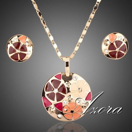 Set Flowers AZORA - Zlatá