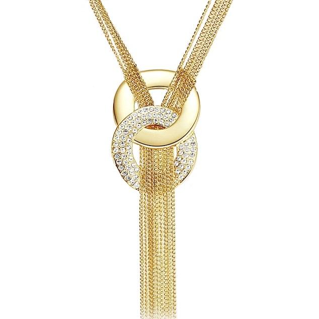 Colier Golden Eight - Auriu KP3382