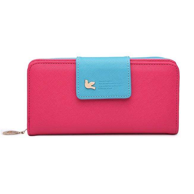 Peňaženka Viola-Ružová/Modrá KP3828