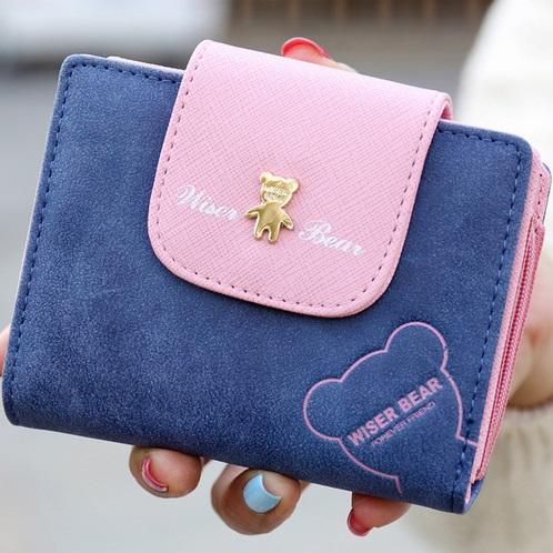 Peněženka Teddy Bear-Modrá KP2884
