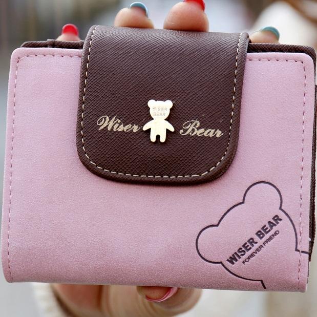 Peněženka Teddy Bear-Růžová KP2885