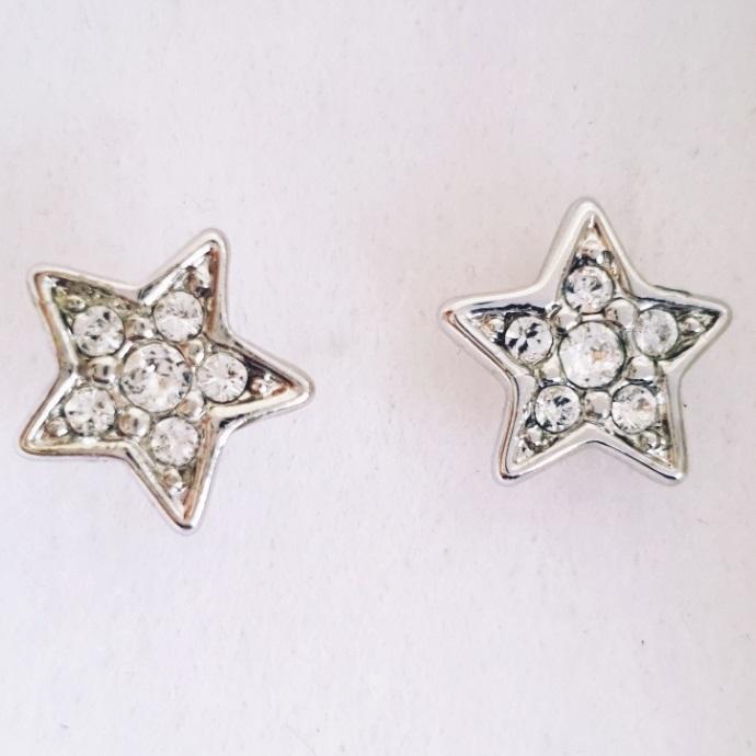 Náušnice Sweet Stars SWAROVSKI-Strieborná KP8161