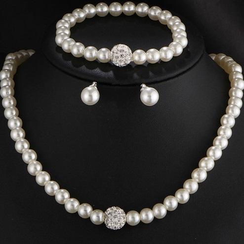Set Pearl Match-Bílá KP2815