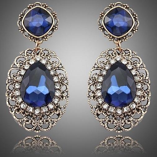 Náušnice Ancient - Modrá KP1872