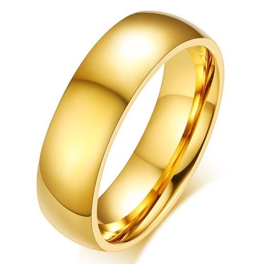 Pánsky Prsteň Boundless-Zlatá/67mm KP4931