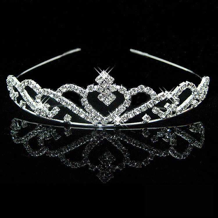 Čelenka/Korunka Crown - Stříbrná 1 KP1655