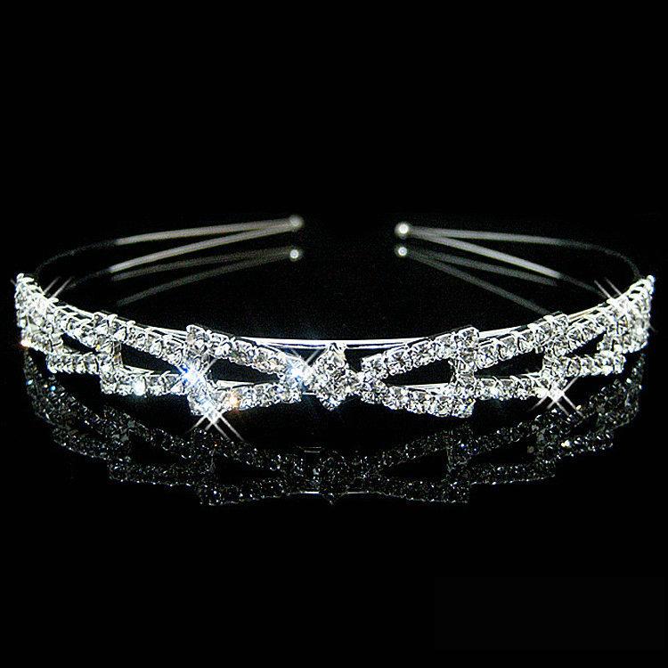 Čelenka/Korunka Crown - Stříbrná 2 KP1656
