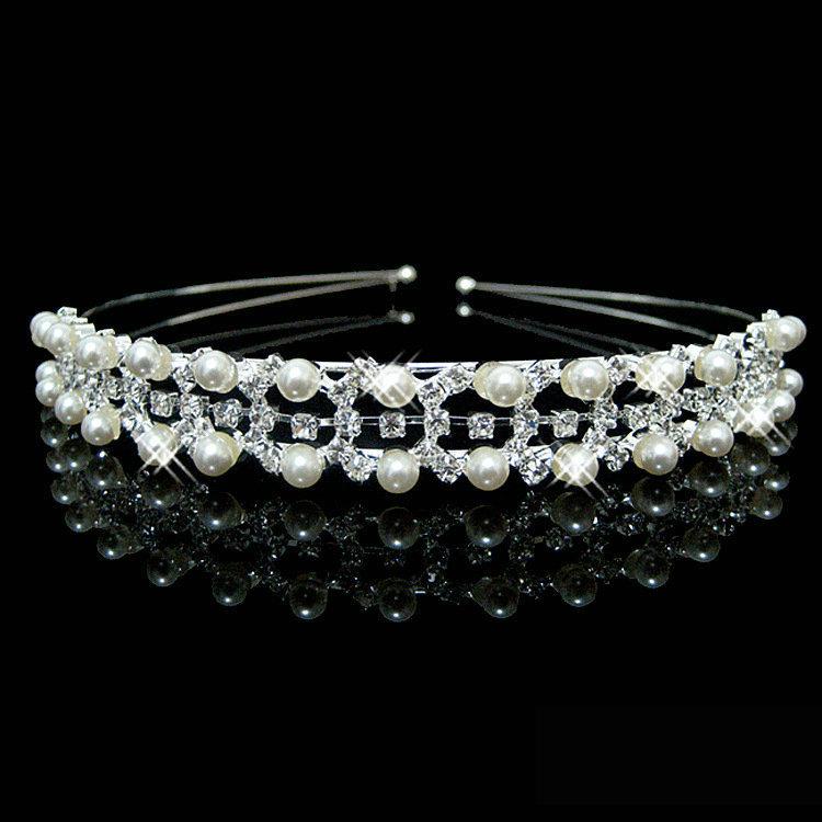 Čelenka/Korunka Crown - Stříbrná 3 KP1657