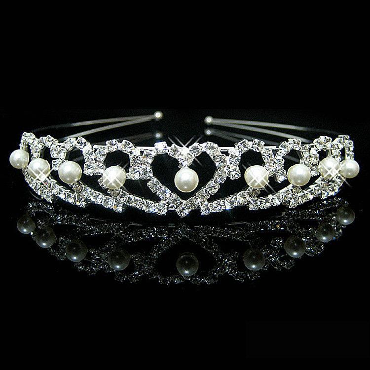 Čelenka/Korunka Crown - Stříbrná 4 KP1658
