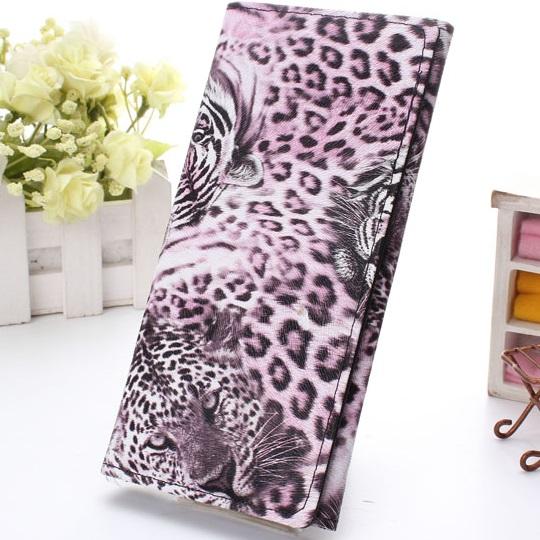 Peněženka Leopard - Růžová KP1535