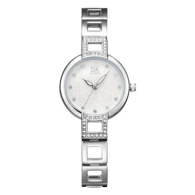 Hodinky SHENGKE Luxury-Stříbrná fdd20d4e10