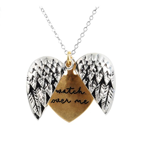 Colier Secret Heart - Argintiu/Auriu KP5819