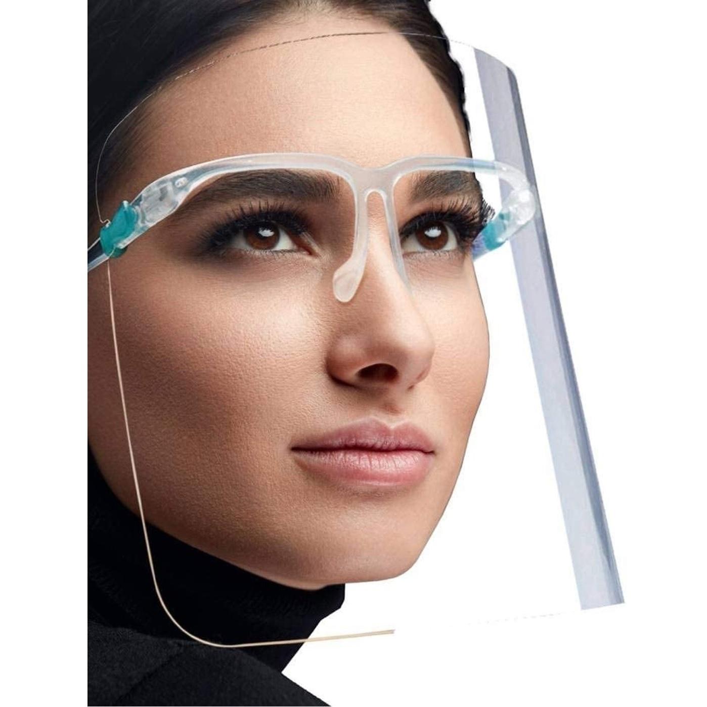 Ochranný štít s okuliarmi KP6921