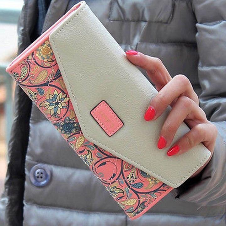 Peněženka Loves - Růžová KP1522