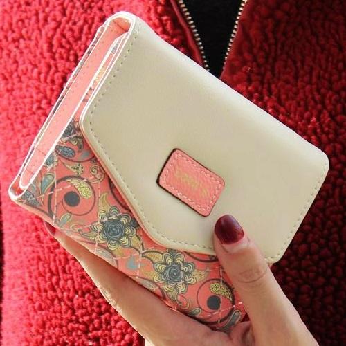 Peněženka Mini Loves - Růžová KP1565
