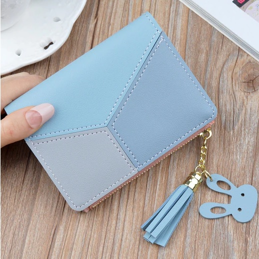 Peňaženka Rabbit-Modrá KP5306