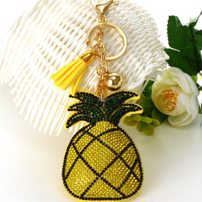 Přívěsek Ananas-Žlutá KP2754