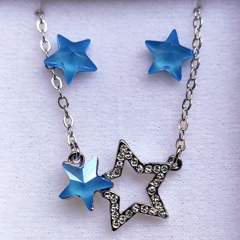 Set Stars SWAROVSKI-Modrá KP5887