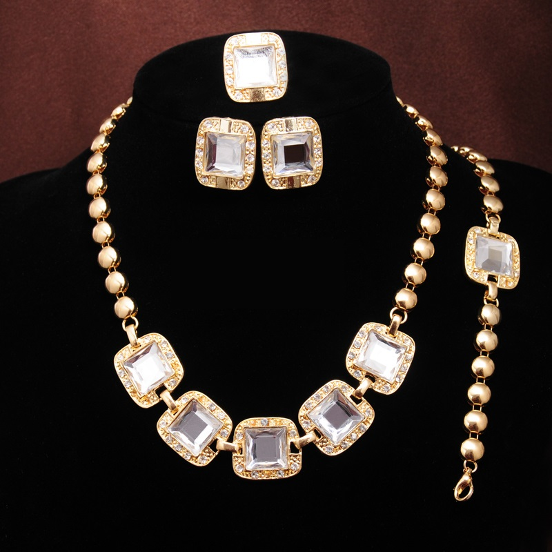 Set Crystal Panel - Bílá KP684