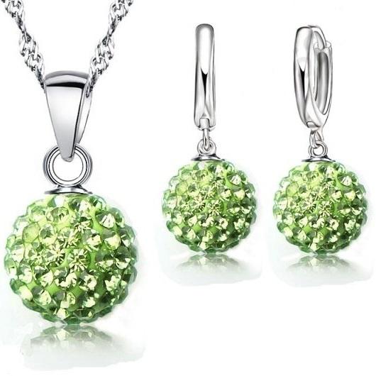 Set Sparkling SHAMBALLA - Zelená KP287