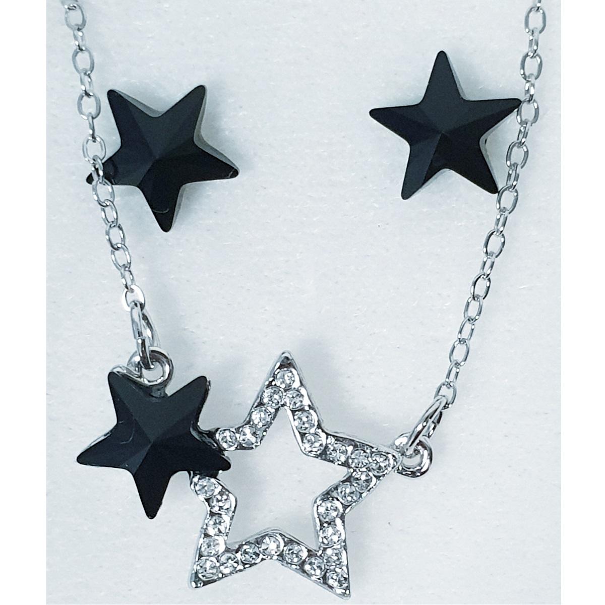 Set Stars SWAROVSKI-Čierna KP6550