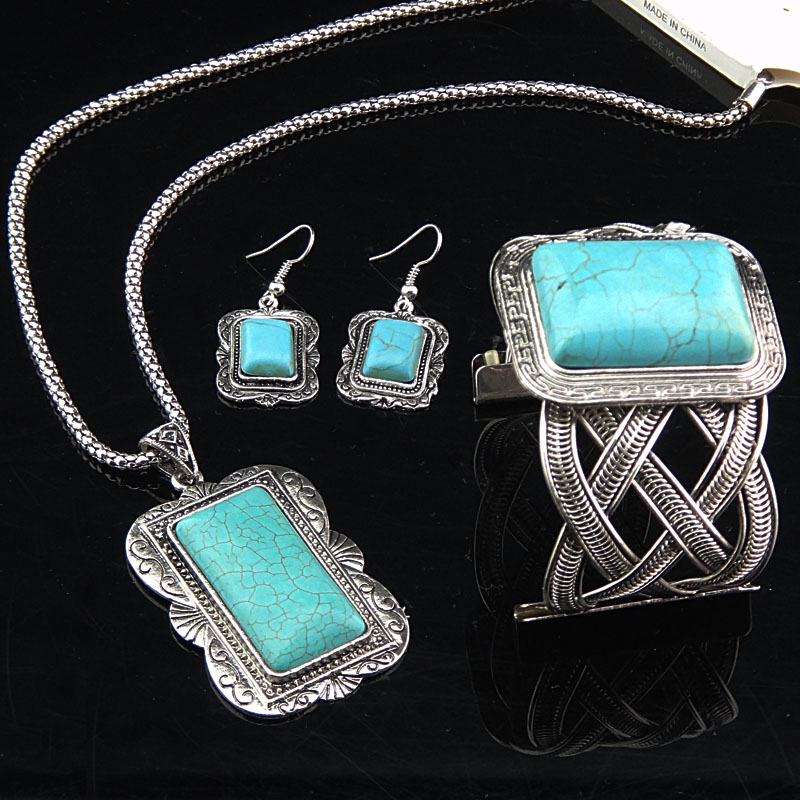 Set Big Antique Turquoise - Tyrkysová KP952
